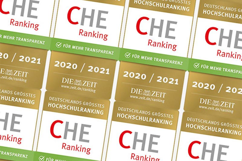 2nd Place in CHE University Ranking