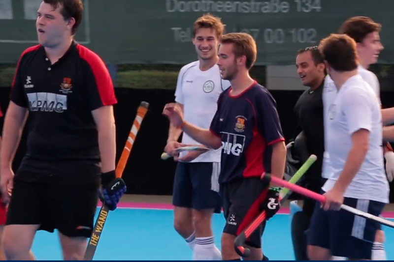 HSBA vs Imperial College London: Anglo German Hockey Trophy